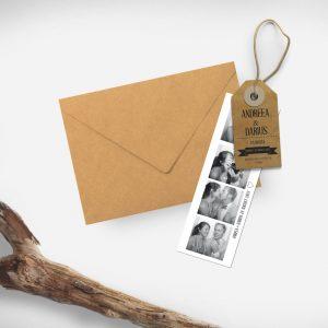 Invitatie Eticheta uniquecards.ro
