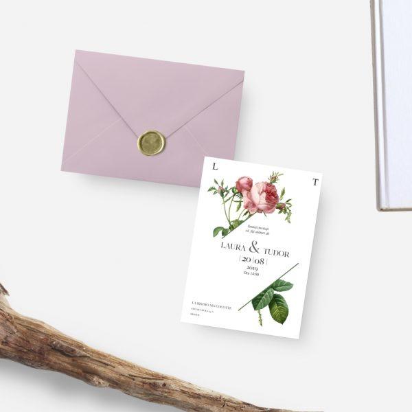 Invitatie Hexa uniquecards.ro