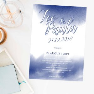 Invitatie Ink uniquecards.ro