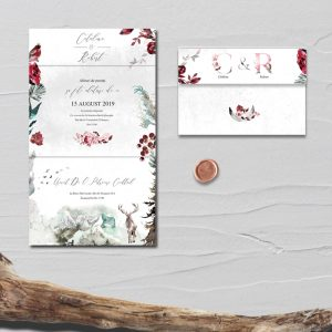 Invitatie Winter uniquecards.ro