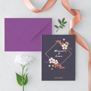 Invitatie Wild Love 2 Uniquecards.ro