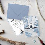 Invitatie 7 Seas uniquecards.ro
