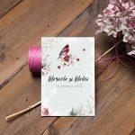 Invitatie Autumn Moment 2 uniquecards.ro