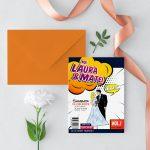 Invitatie Comic Book uniquecards.ro