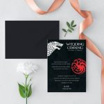 Invitatie GOT 1 uniquecards.ro