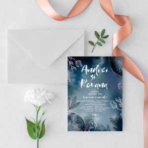 Invitatie Moonlight 2 uniquecards.ro
