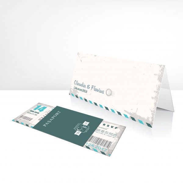 Invitatie Travel uniquecards.ro