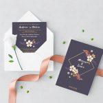 Invitatie Wild Love1 uniquecards.ro