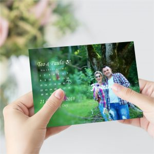 Invitatie calendar uniquecards.ro