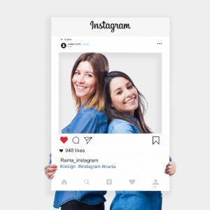 Panou Selfie Instagramuniquecards.ro